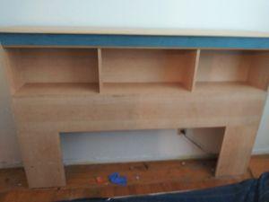 Book shelf head board dresser mirror for Sale in San Leandro, CA