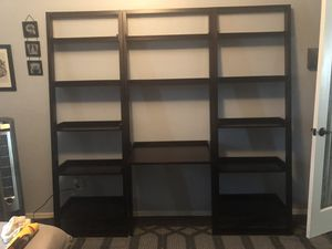 3 Piece Desk with Bookshelves for Sale in Waddell, AZ
