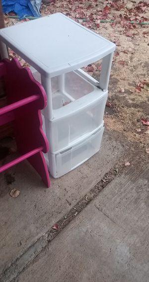 Plastic drawer for Sale in Galt, CA