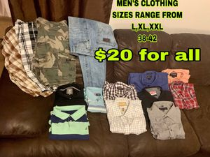 Men's Clothing for Sale in San Angelo, TX
