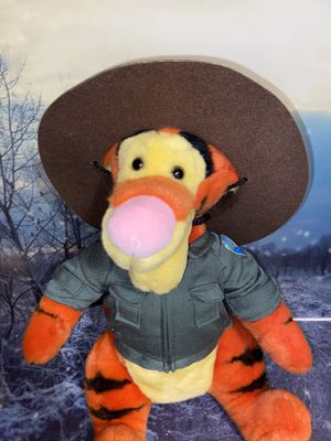 """Brand New Disneyland parks Ranger Tigger 15"""" plush toy with tags for Sale in Bellflower, CA"""