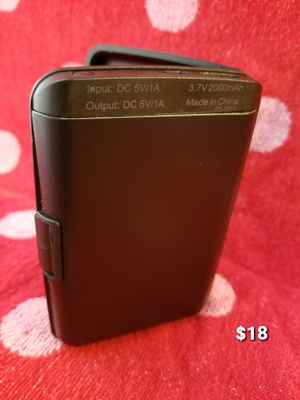 Wallet New USB rechargeable Portable power bank charger, charge on the go never let your phone or device die for Sale in Moreno Valley, CA