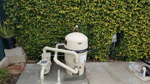 Swimming Pool Equipment Pumps, Filters, Heater for Sale in Hesperia, CA