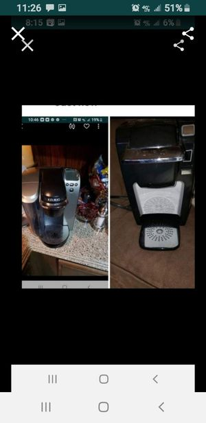 PICK UP in KYLE TEXAS ..2 DIFFERENT KEURIGS $50 BIG ONE $35 SMALL ONE for Sale in Kyle, TX