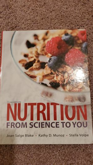 Nutrition: From science to you. for Sale in Odessa, TX