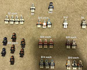 Large LEGO Star Wars Clone Trooper minifigure / mini figure lot for Sale in Portland, OR