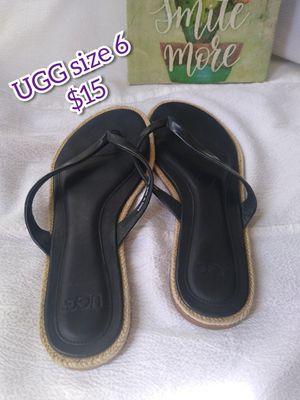 UGG flip flops sandals size 6 for Sale in Phoenix, AZ