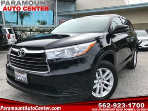 2015 Toyota Highlander for Sale in Downey, CA