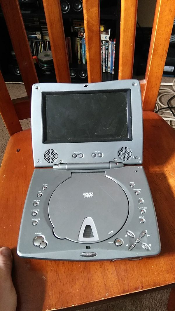 Portable DVD player Works needs acharger