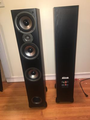 2 Polk Audio Monitor 60 Series II Floorstanding Speakers for Sale in Columbus, OH