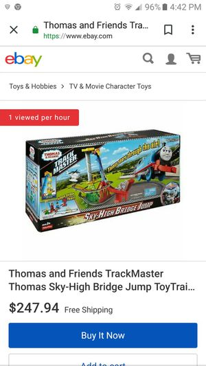 Thomas & Friends Sky High Bridge Jump for Sale in Columbus, OH