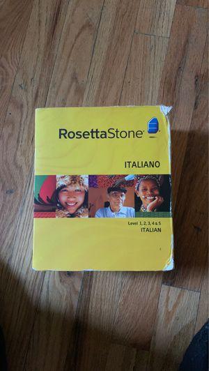 Rosetta Stone Italian for Sale in The Bronx, NY