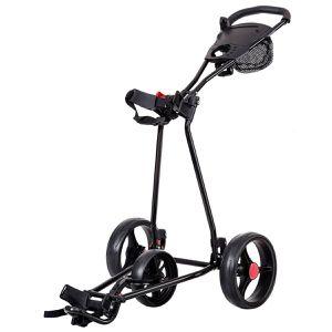 Foldable 3 Wheel Golf Pull Push Cart Trolley Scorecard Drink Holder Mesh Bag for Sale in Montclair, CA