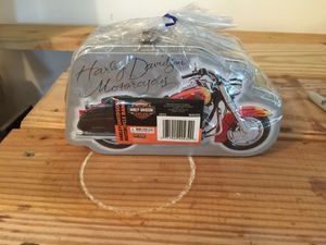Harley Davidson motorcycle tin for Sale in Columbia, NJ