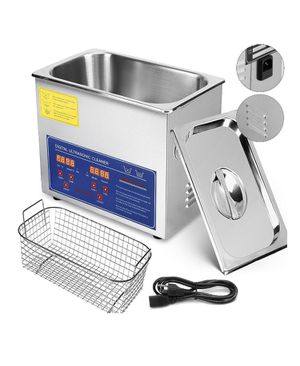 VEVOR 3L Ultrasonic Cleaner Stainless Steel Industry Heated Heater w/Timer for Sale in Fontana, CA