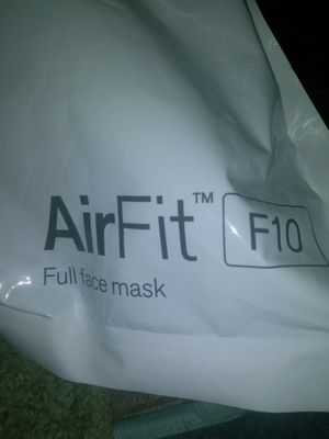 Airfit f10 full face mask for Sale in Philadelphia, PA