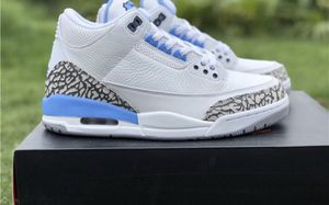 AIR JORDAN 3 UNC White/University Blue SHIPPING ONLY for Sale in Bell, CA