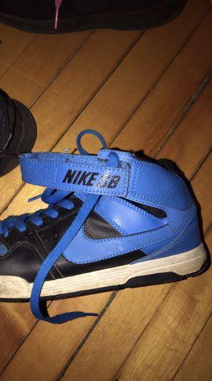 kids nike skateboarding shoes for Sale in Wakefield, MA