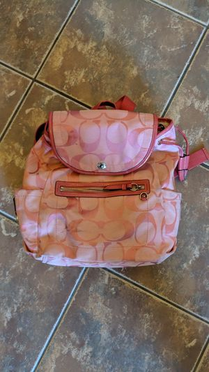 Coach backpack purse for Sale in Gilbert, AZ