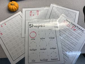 Customized Children's Dry Erase Tracing Practice Sheets for Sale in Bayonne, NJ