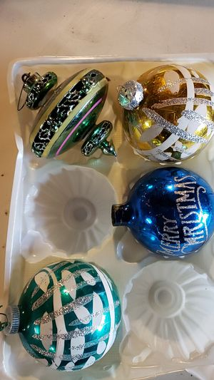 Antique glass christmas balls for Sale in Mifflinburg, PA