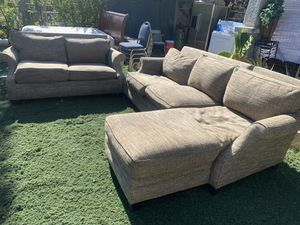 nice set of couches for Sale in Fresno, CA