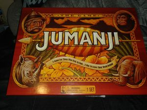 BRAND NEW JUMANJI BOARD GAME for Sale in Rancho Cordova, CA