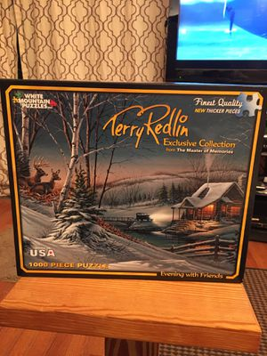 Terry Redlin 1000 piece puzzle for Sale in Fairfax, VA