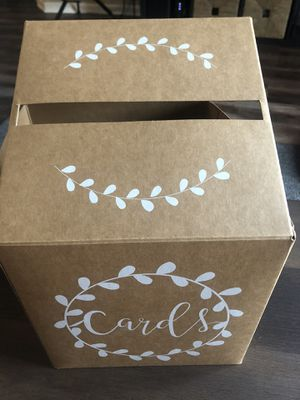 Card box- like new for Sale in Lake Zurich, IL