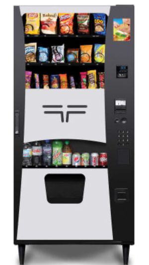 Wittern Futura combo vending machine with credit card capability for Sale in Doraville, GA