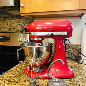 Red KitchenAid Artisan Mixer for Sale in Del Mar, CA