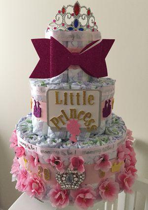 Little Princess Diaper Cake for Sale in Alexandria, VA