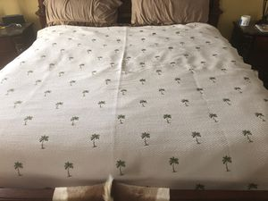 Quilt- Embroidered Palm trees for Sale in Palm City, FL