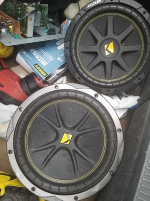 Kicker comp c10s for Sale in Kansas City, MO