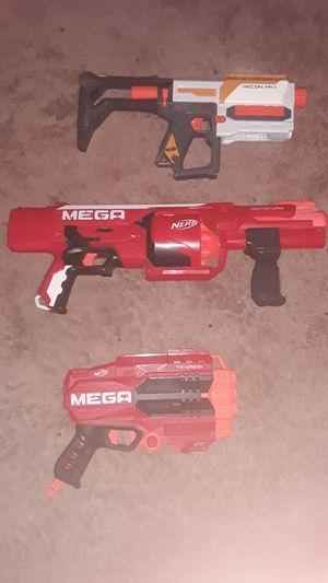 2 mega nerf guns and 1 modules nerf gun for Sale in Chandler, AZ