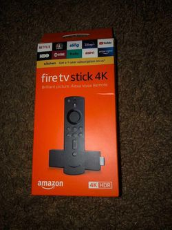 Fire stick 4k tv for Sale in Houston,  TX