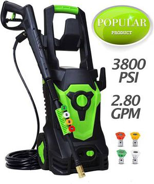 Azoran 3800 PSI 2.8 GPM Electric Pressure Washer, 4 Quick-Connect for Sale in Upland, CA