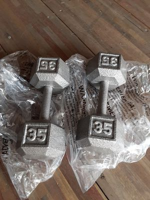 *Brand New* set of 35Lb Hex Dumbbells. $125 Firm for Sale in Downey, CA