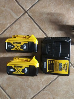 Batteries and charger for Sale in Rancho Dominguez, CA