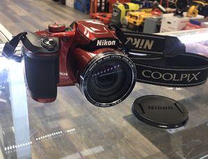 Nikon COOLPIX B500 16.0MP 40x advanced Zoom Digital Camera Red for Sale in Lynn, MA