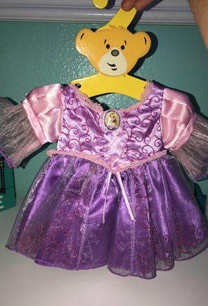 Build-a-bear rapunzel dress for stuffed animals for Sale in Chula Vista, CA