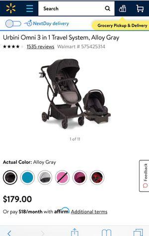 Urbini car seat and stroller for Sale in Stuart, FL