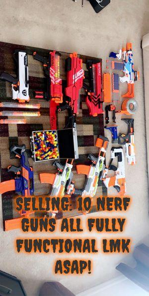 NERF GUNS for Sale in Kissimmee, FL