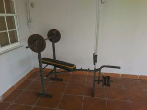 Bench set (no weights) for Sale in Hialeah, FL