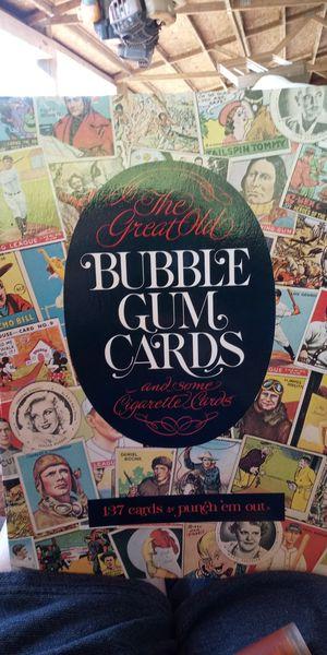 1977 Bubble gum cigarette cards etc. for Sale in Spartanburg, SC