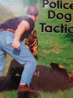 Police Dog Tactic Hard Copy Book By Sandy Bryson for Sale in Lawrence,  MA