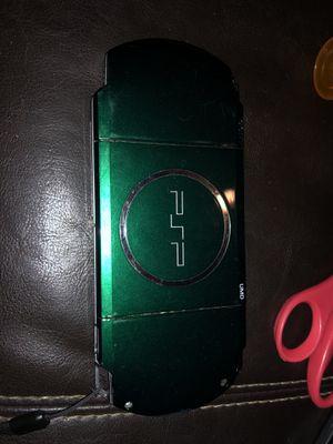 Green psp 3000 for Sale in Houston, TX