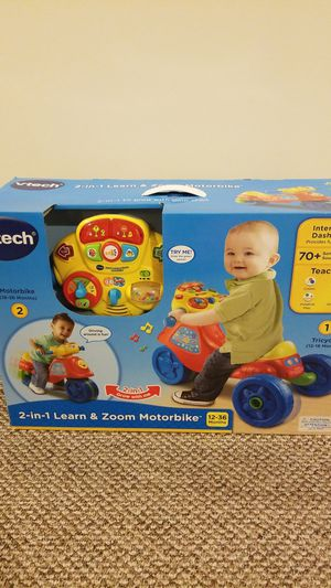 Vtech 2 in 1 learn and zoom motorbike for Sale in Saint Charles, MD