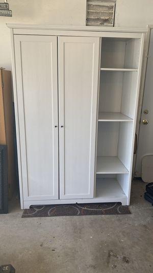 IKEA Aspelund Wardrobe/Armoire Storage - White for Sale in San Juan Capistrano, CA