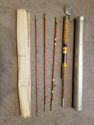 Fishing Rod with Tube for Sale in Redlands, CA